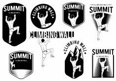 Climbing Wall Badge Set