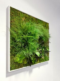 Grass painting..bring the outdoors in C'est le printemps ! by Ganymede2009, via Flickr