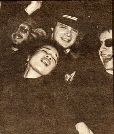Kevin Kavanaugh, Ronnie Spector, and Southside Johnny. Asbury Jukes promo pic from 1977