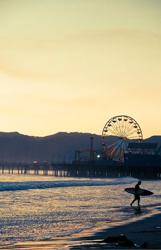 Santa Monica Surf photograph from @Joo Hee Yun...Looks like a gorgeous morning