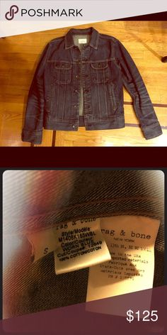 Rag & Bone men's denim jacket - Size Small Bought at sample sale.  Excellent condition and never been worn rag & bone Jackets & Coats Jean Jackets
