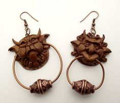 eBay Italia - Labyrinth door knocker earrings!!!