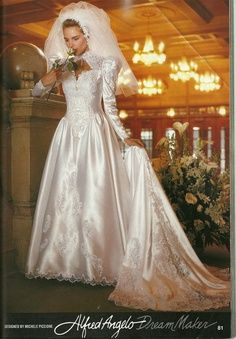 1990s bridal ads | Alfred Angelo Dream Maker