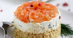 Minicheesecakes ricotta e salmone   MIEL & RICOTTA