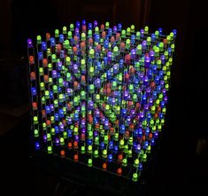 Picture of 8X8X8 3D RGB LED Cube