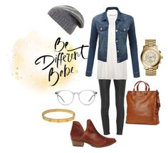 """""""Be different !"""" by mars1128 on Polyvore featuring J Brand, T By Alexander Wang, LE3NO, Steve Madden, Ace, Frye, BCBGMAXAZRIA, Cartier and Michael Kors"""
