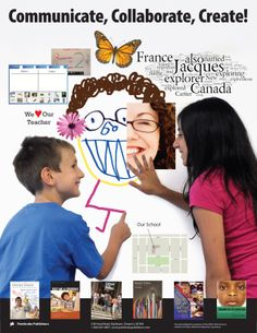 Poster: Have students Communicate, Collaborate, Create! using interactive whiteboards. *Copies Available!*