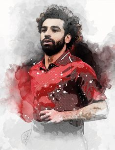 61 x Winger Mo Salah on Museum-quality poster with vivid print made on thick and durable matte Mo Salah, Football Wallpaper, Liverpool Fc, Soccer, Art Print, Digital, Trending Outfits, Etsy, Vintage