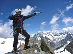Fiona @oceanrise1 @BrittanyFerries #DiscoverWithBF Aim High..Reach for the Sky in the French Alpes.