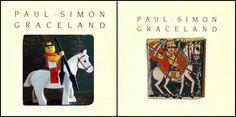 LEGO album cover Graceland - Paul Simon
