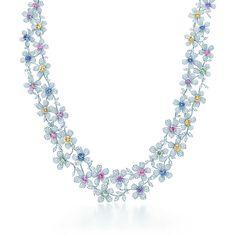 Colar de Safiras Wildflower Tiffany & Co