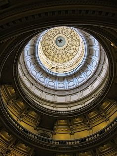 Texas Capitol Dome by Michael Connell, via Flickr
