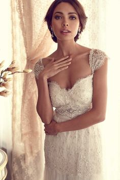 Anna Campbell- love!! Gorgeous #wedding #dresses