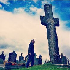 Medieval high cross at Adamstown, Co Wexford, Ireland. It's a tall one :)