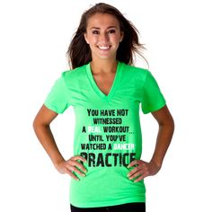 """""""You have not witnessed a real workout... until you've watched a dancer practice."""""""