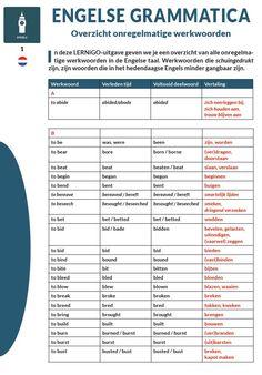 Engelse grammatica - Onregelmatige werkwoorden, (c) LERNiGO BV