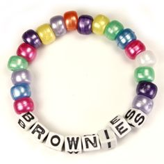 girl scout brownies crafts ideas | Brownies Pearly Bracelet Kit, Makes 6, Bracelet Kits