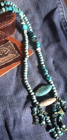 TuRQuoiSe BoHo aRTiSaN NeCKLaCe/ Hand Knotted/ Women/ by Ivanwerks
