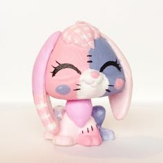 Patchwork bunny LPS [for sale] by amberleaLPS.deviantart.com on @DeviantArt