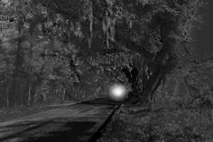 Beaufort's Haunted History:  The Land's End Light, grew up SO scared of this...swamp gas!
