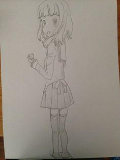 Manga, anime drawing