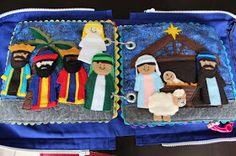 Quiet Book Week - The Nativity