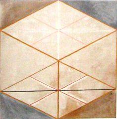 Hilma af Klint - Grupp IX/SUW, nr. 22, Svanen nr. 22, 1915. HAK 170. Kat 110. 152,5 x 149,5 cm