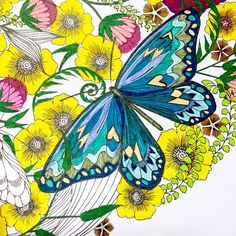Almost Done With 1 Large Image From My Animal Kingdom Coloring Book By