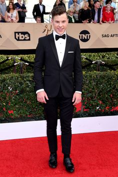 See photos from the red carpet at the 2017 Screen Actors Guild Awards Sag Awards, Red Carpet, Suit Jacket, Breast, Actors, Formal, Movies, Style, Fashion