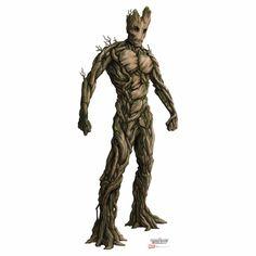 Guardians Of The Galaxy Groot Cardboard Cutout