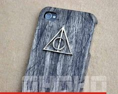 Deathly Hallows Pendant Iphone Case