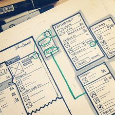 Wireframing web app - Dribbble-two - Design Ui Ux, Mobile Ui Design, Web Design Tips, Dashboard Design, User Interface Design, Web Design Inspiration, Sketchbook Inspiration, Graphic Design, Interaction Design