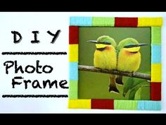 I've just uploaded another easy DIY video for you and I'm actually using the same method on my previous video, please check it out if you have. Diy Photo, Diy Videos, Creative Crafts, Easy Diy, Recycling, Frame, Picture Frame, Crafts, Upcycle
