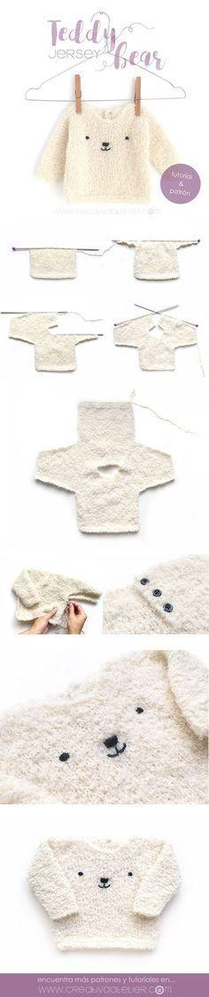 Crochet Bear Beanie Hats For M