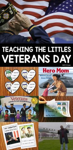 Teaching the Littles Veterans Day - Ideas for preschool, kindergarten, and first grades.  Books, videos, projects and so much more!
