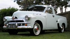 Mid 50's FJ Holden Ute. An Australian icon. My uncle had one that was great for all of us and our cousins to ride in the back without a care in the world.