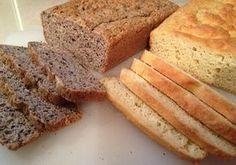 Brood van amandel- en kokosmeel.