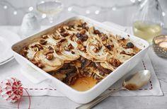 With nutty celeriac and earthy mushrooms, this vegan recipe is a stunning alternative Christmas main. Find more vegan Christmas recipes at Tesco Real Food. Vegan Christmas, Christmas Recipes, Christmas Dinners, Holiday Dinner, Christmas Christmas, Christmas Ideas, Vegan Yorkshire Pudding, Tesco Real Food, Celeriac