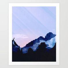 Sunny Rise Art Print