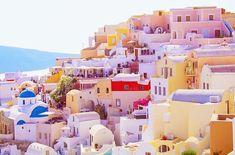 pastel dreams. 🌸 . . . . . . . . #santorini #oia #greece #sunset #pastel #pink #buildings #architecture #travel #travelblogger #postcard… Oia Greece, Pastel Pink, Santorini, Buildings, Dreams, Sunset, Architecture, Travel, Instagram