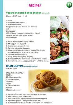 Fun Baking Recipes, Cupcake Recipes, Dessert Recipes, Cooking Recipes, Healthy Meal Prep, Healthy Food, Healthy Eating, Healthy Recipes, Easy Chicken Recipes