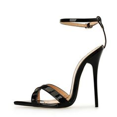 124d42bd3683 2017 New Lady Sandals High Heels 14cm Stiletto Heel Women Shoes Sexy Ankle  Strap Fashion Lady