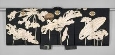 Jacket with design of lotuses. Japanese, early 19thC. Metropolitan Museum of Art, NY