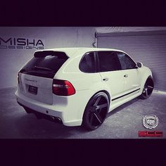 Never been big on these, but I would drive this one. #MISHAdesigns Porsche Cayenne