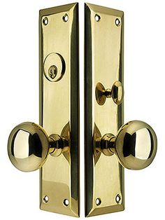 Manhattan Mortise Lock Entry Set With Waverly Knobs | PRODUCTS | Pinterest  | Mortise Lock, Manhattan And Antique Hardware