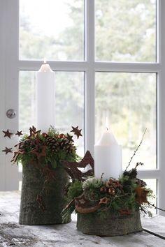 Weiß, grün und Kupfer = Weihnachten