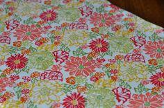 Beautiful custom floral weighted blanket. via Etsy.