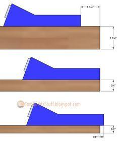 Kreg-Mini Cheat Sheet: Settings and screw sizes for the Kreg Mini pocket hole jig