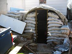 Home Made Root Cellar