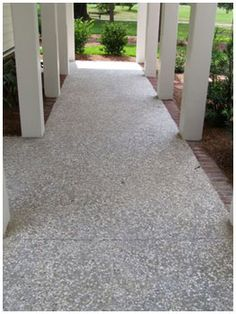 Oyster Shell Concrete In 2019 Stamped Concrete Concrete
